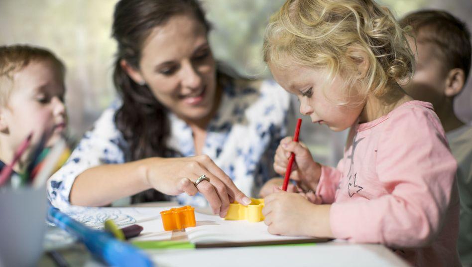 Arbeit in der Kita: Rund hundert Studiengänge für Kindheitspädagogik gibt es mittlerweile