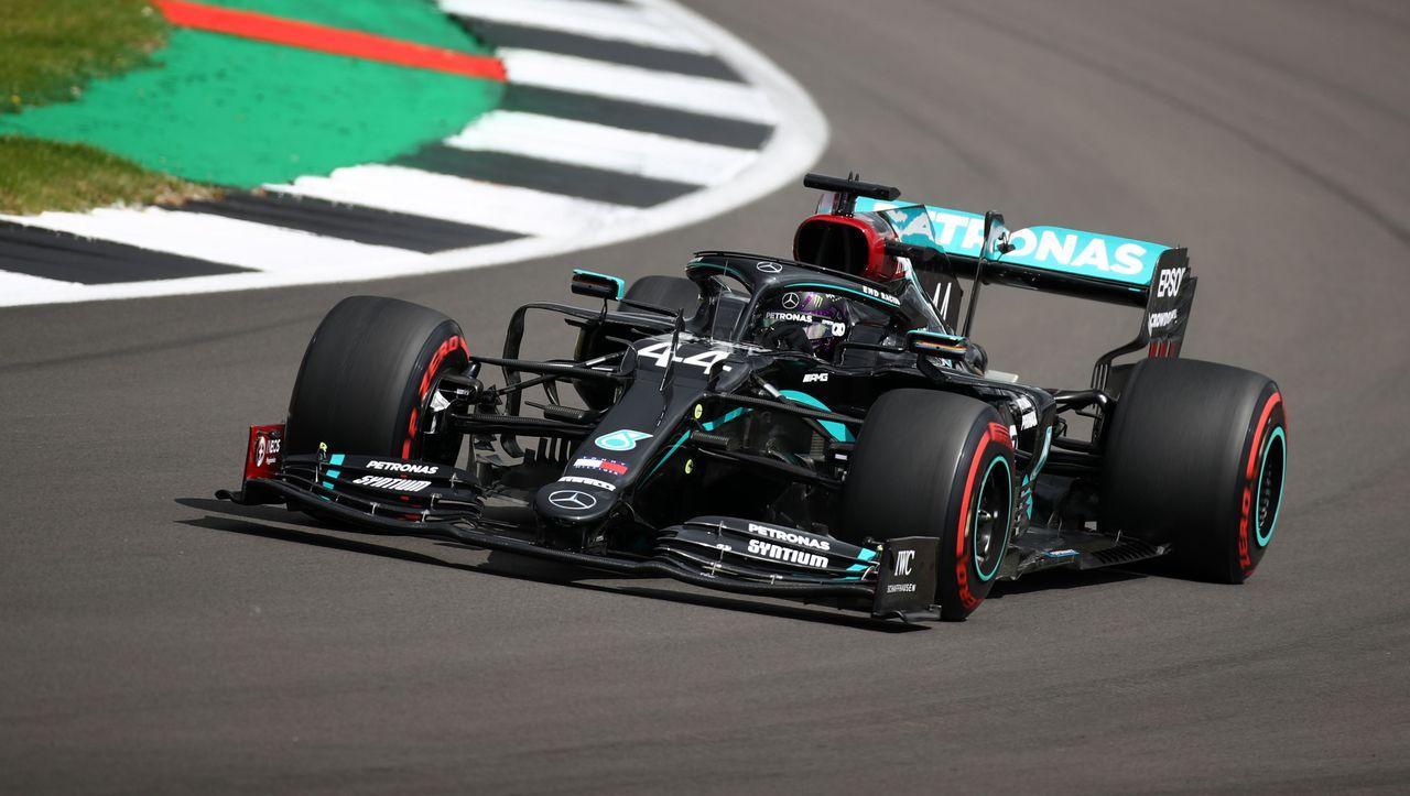 Formel-1-Qualifying in Silverstone: Lewis Hamilton holt ...