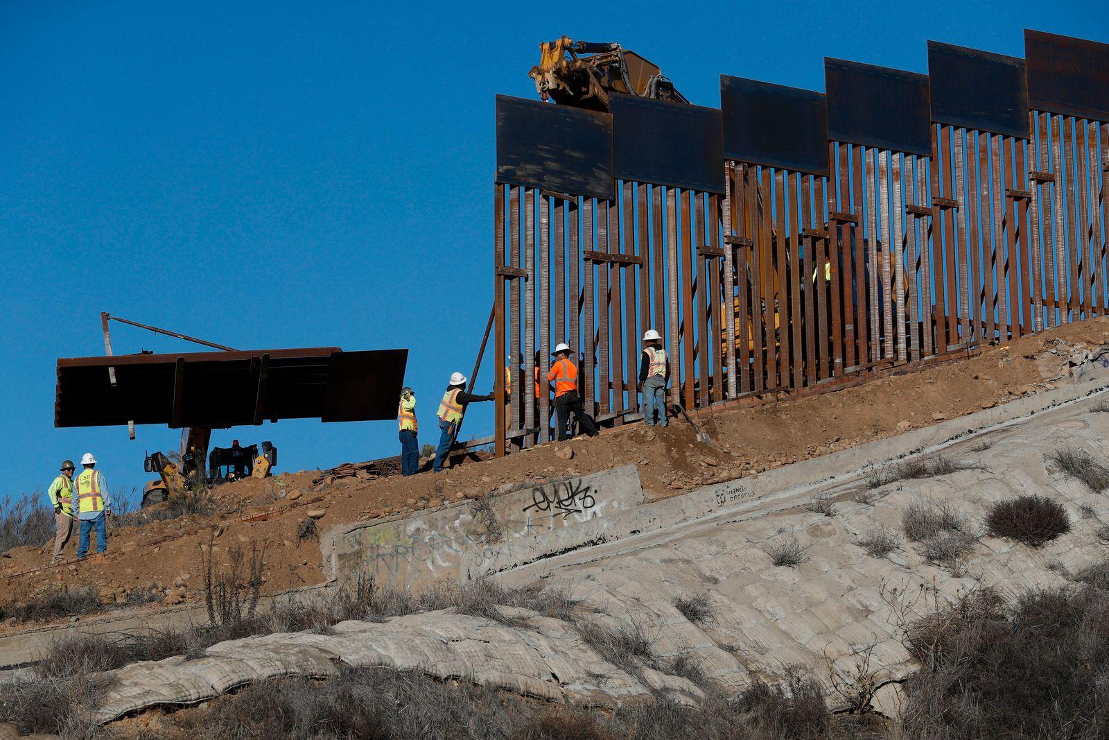 Grenze zwischen USA und Mexiko