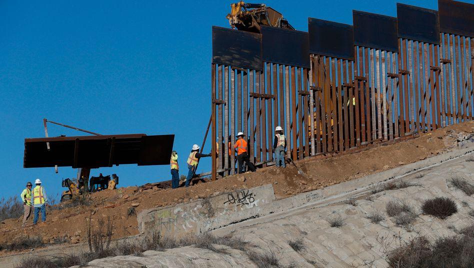Mauerbau an der Grenze der USA zu Mexiko: Umwidmung der Gelder im Ermessen des Ministeriums