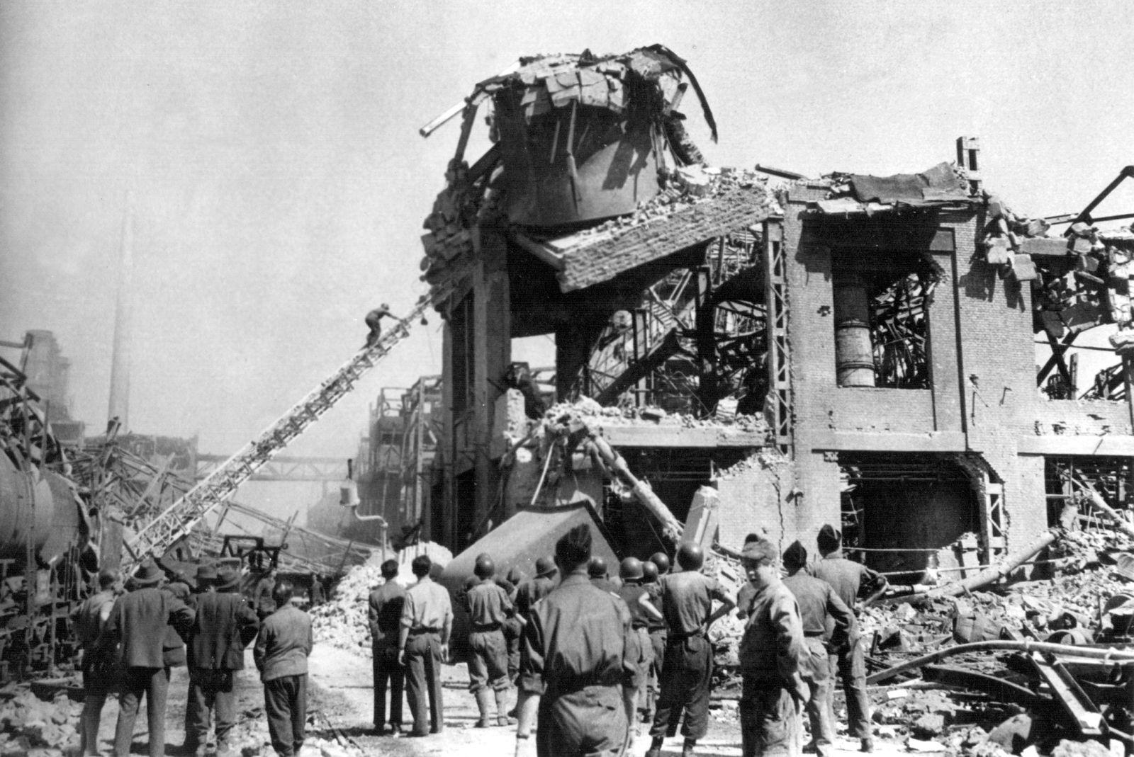 Explosionsunglück bei BASF