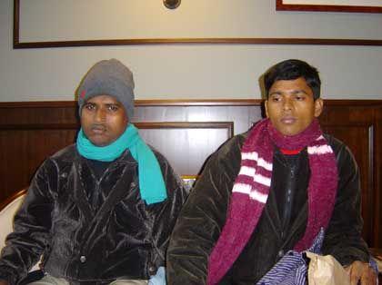 Einsturzopfer Nura Alam (l.) und Jahangir Alam: Furcht vor dem Präzedenzfall