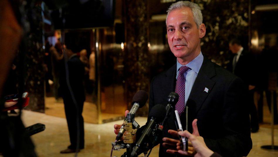 Chicagos Bürgermeister Rahm Emanuel