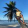 Kokosnüsse auf Palawan, Poolparty auf dem Schiff