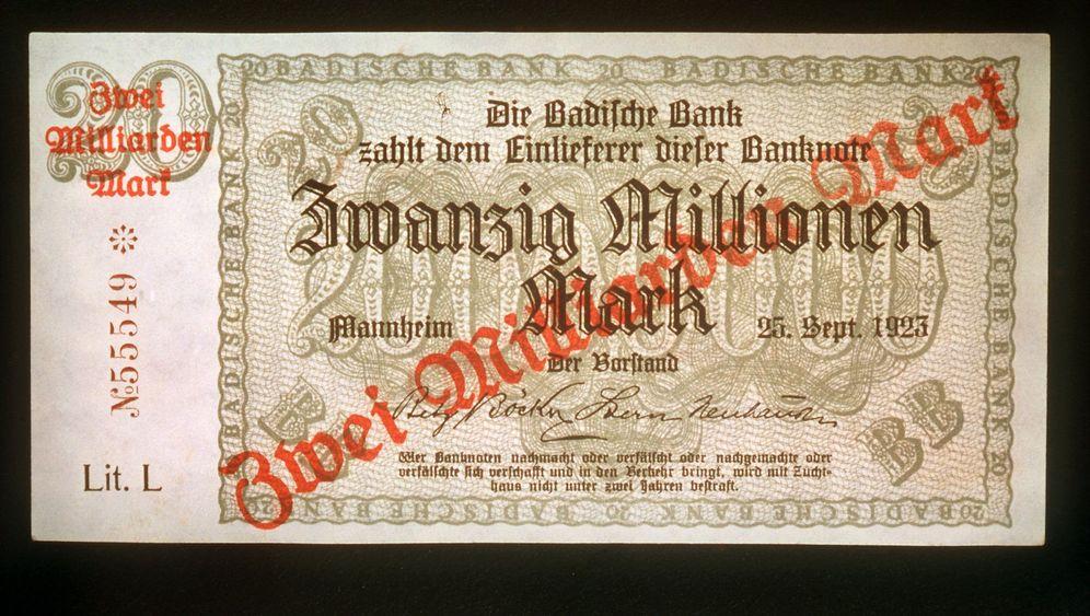 Hyperinflation 1923: Zeit ist Geld