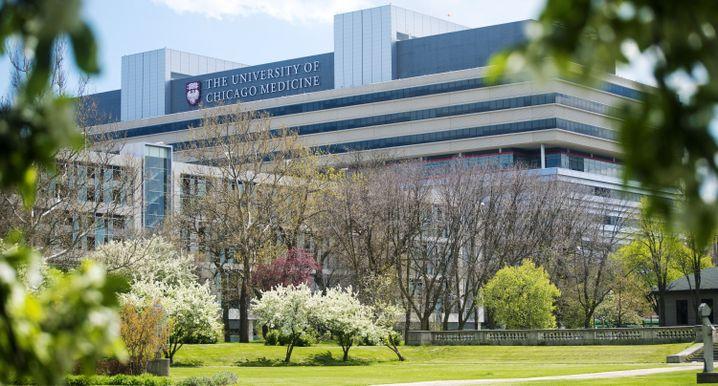 Die Universität von Chicago eröffnete 2013 ein neues Center for Care and Discovery