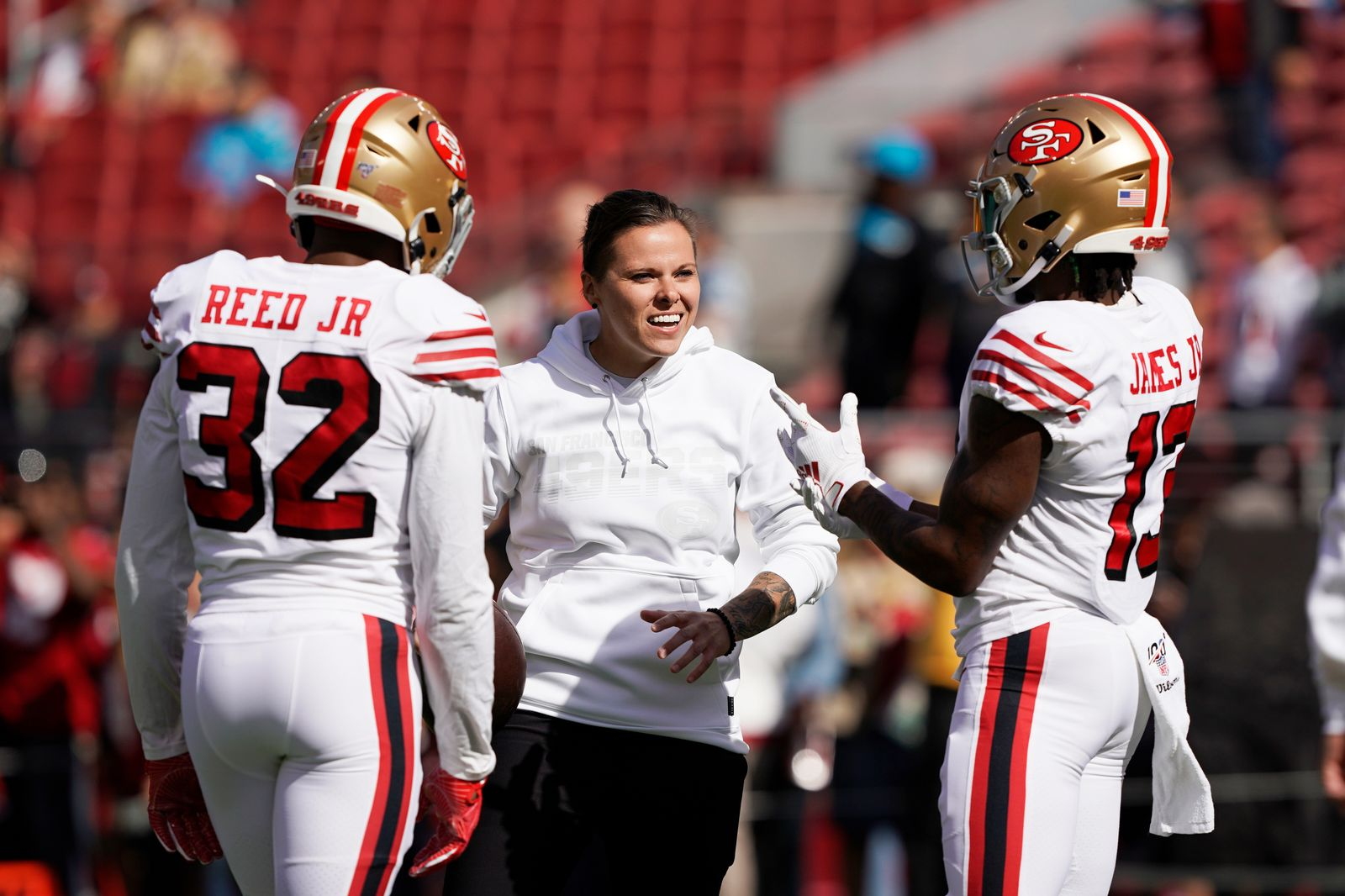 Panthers 49ers Football