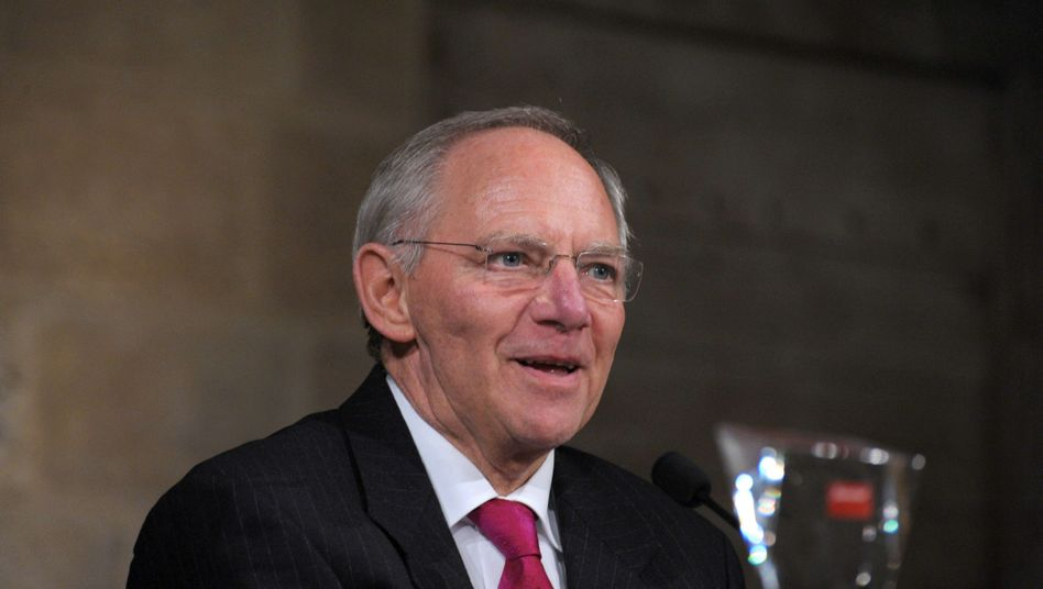 Wolfgang Schäuble: Der Finanzminister hat viel Geld zu verteilen