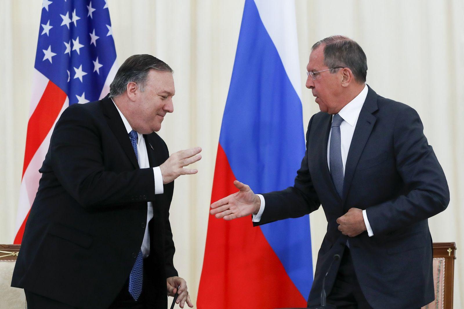 US-Außenminister Pompeo in Russland