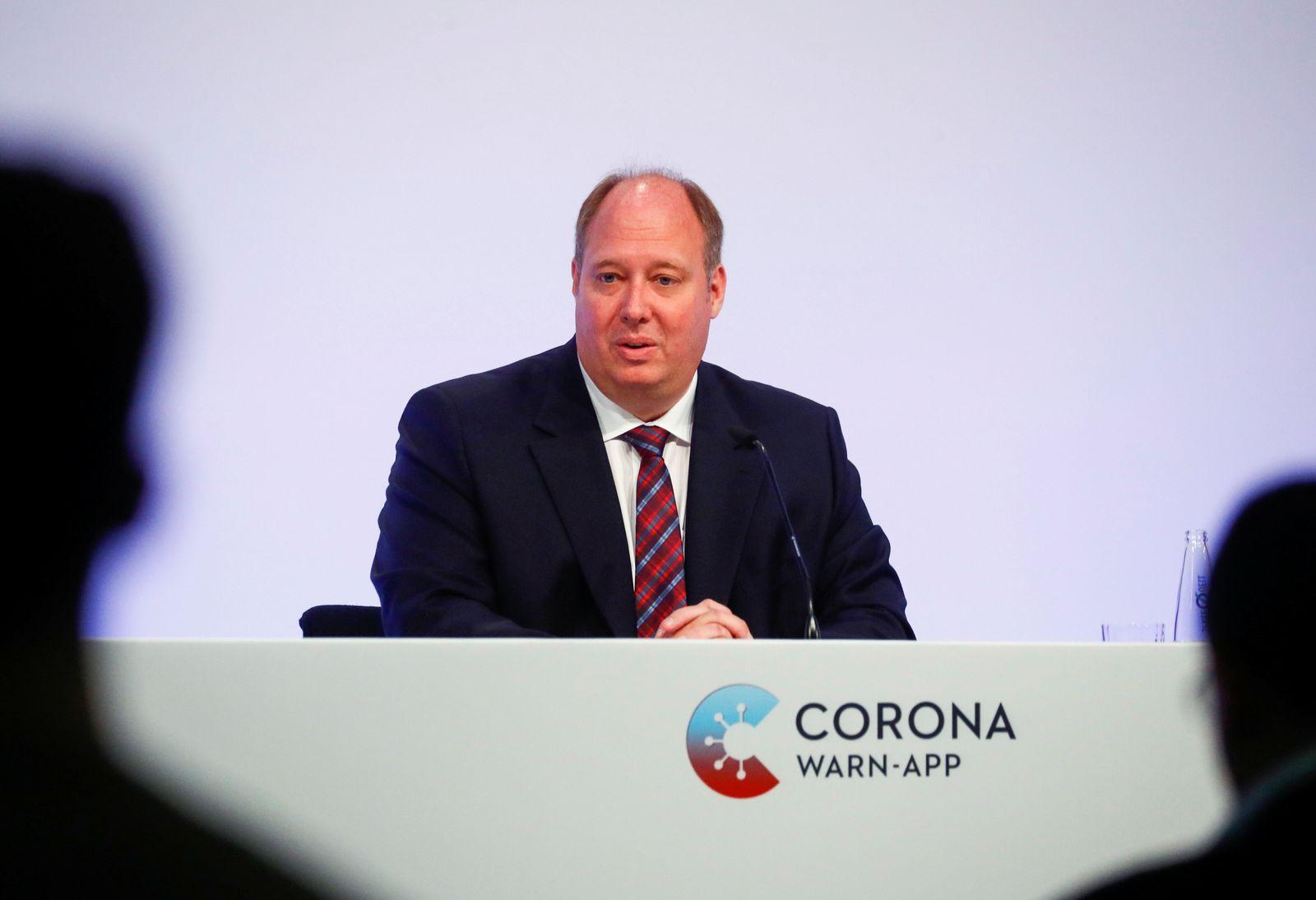 Coronavirus - Vorstellung der Corona-Warn-App
