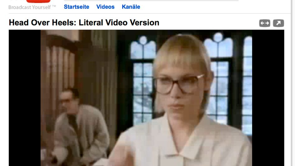 Head Over Heels - Literal Video Version