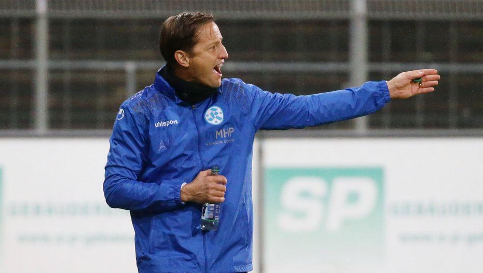 """Kickers-Trainer Ramon Gehrmann: """"In der Halbzeit hatte nicht jeder Verständnis für die Aktion"""""""