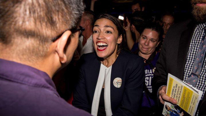 Demokraten-Star Ocasio-Cortez: Aus der Bronx, auf die große Bühne