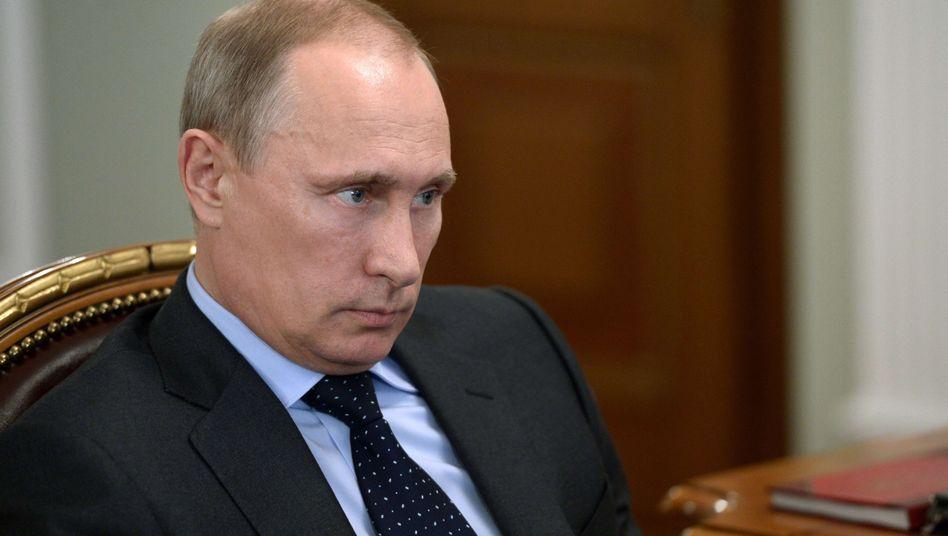 Russlands Präsident Putin: Der Westen will Druck machen