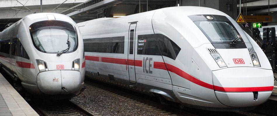 ICE-Züge der dritten und vierten Generation