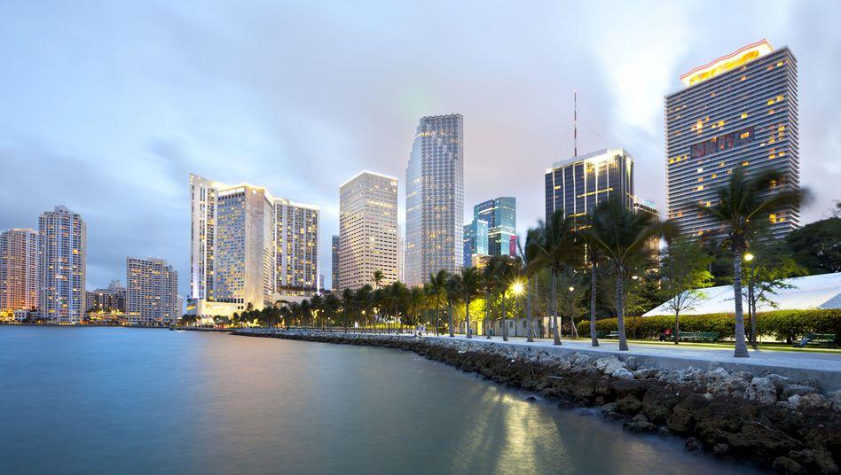 Skyline von Miami: Viel Raum für Versteckspiele