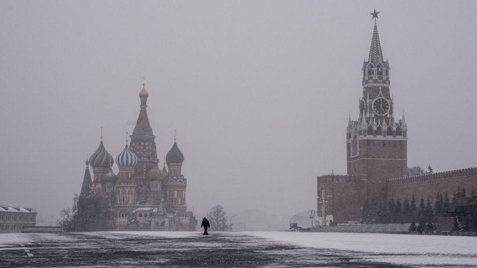 Moskau im Winter: Sitzen hier die Hintermänner?