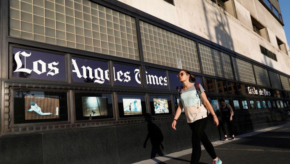 """Gebäude der """"Los Angeles Times"""""""