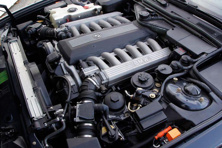 Zwölfzylinder von BMW