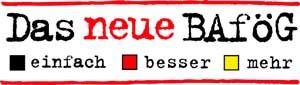 Bafög-Logo: Einfach? Na ja