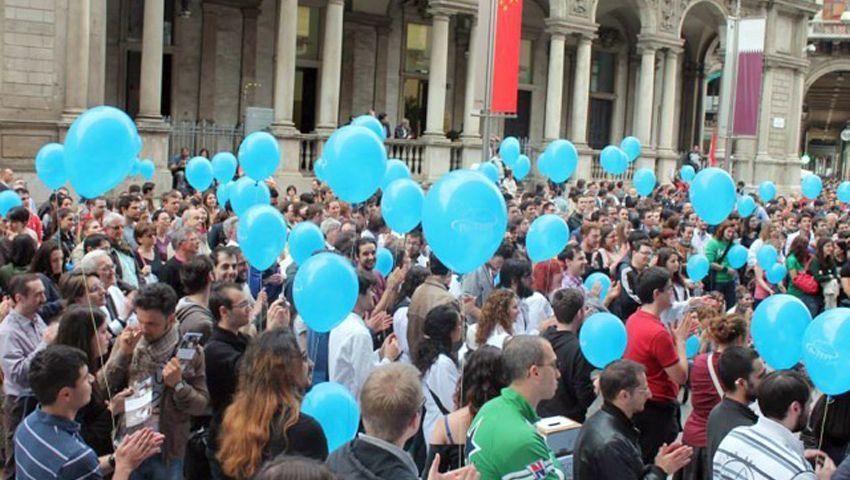 """Demonstration von """"Pro-Test Italia"""" in Mailand: """"Wichtig, dass die Wissenschaft auch zu Wort kommt"""""""
