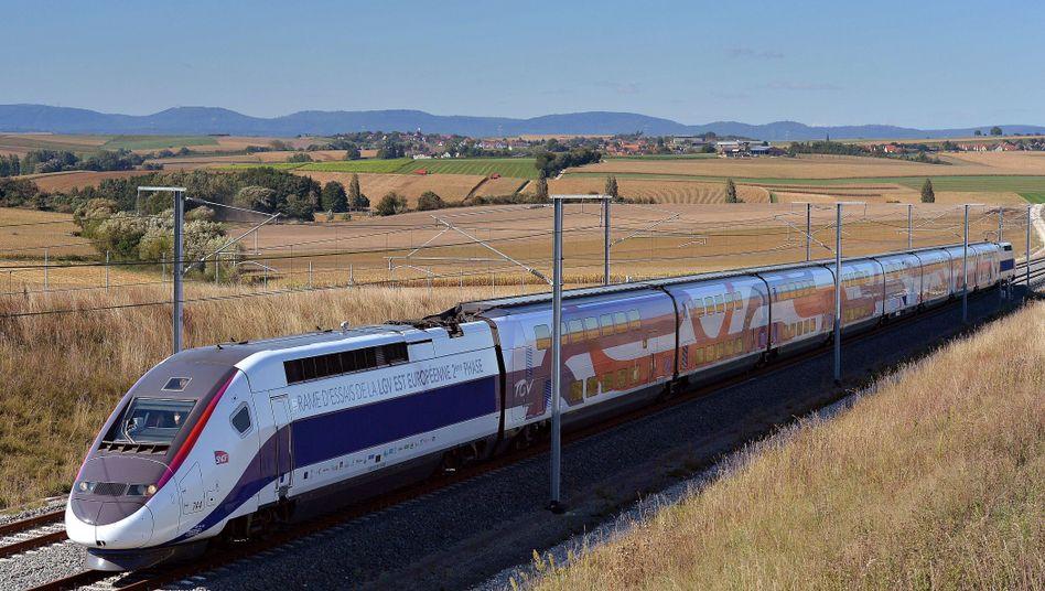 TGV in Frankreich (Archiv): Evakuierung wegen Gammelfleisch