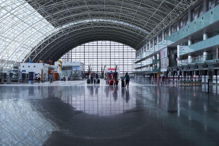 Flughafen Izmir: Hier landen auch die Direktflüge aus Deutschland