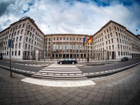 Schauplatz einer Razzia: Bundesfinanzministerium in Berlin
