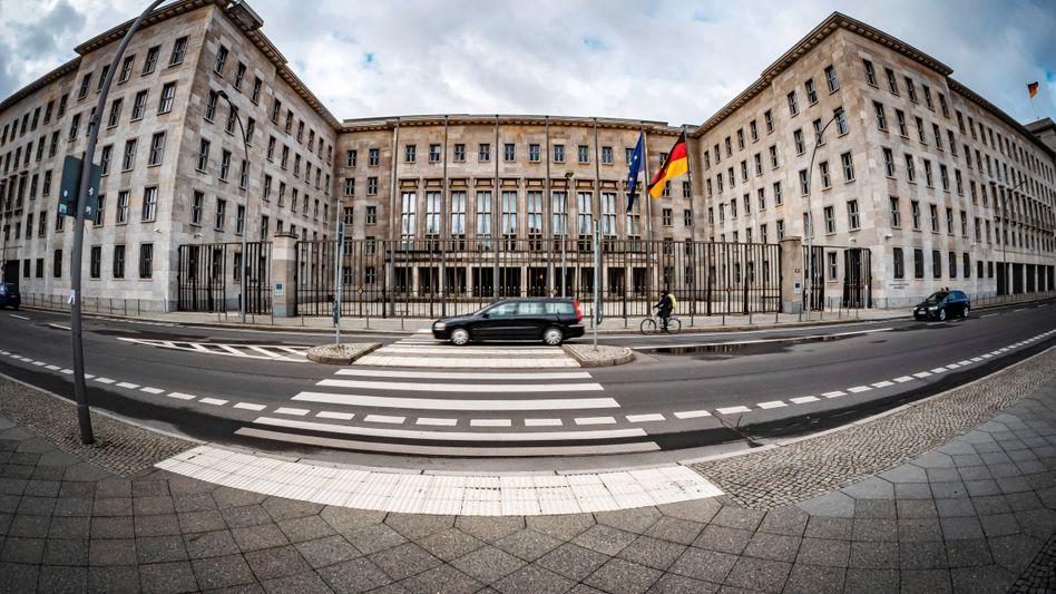 Schauplatz einer Razzia: Finanzministerium in Berlin