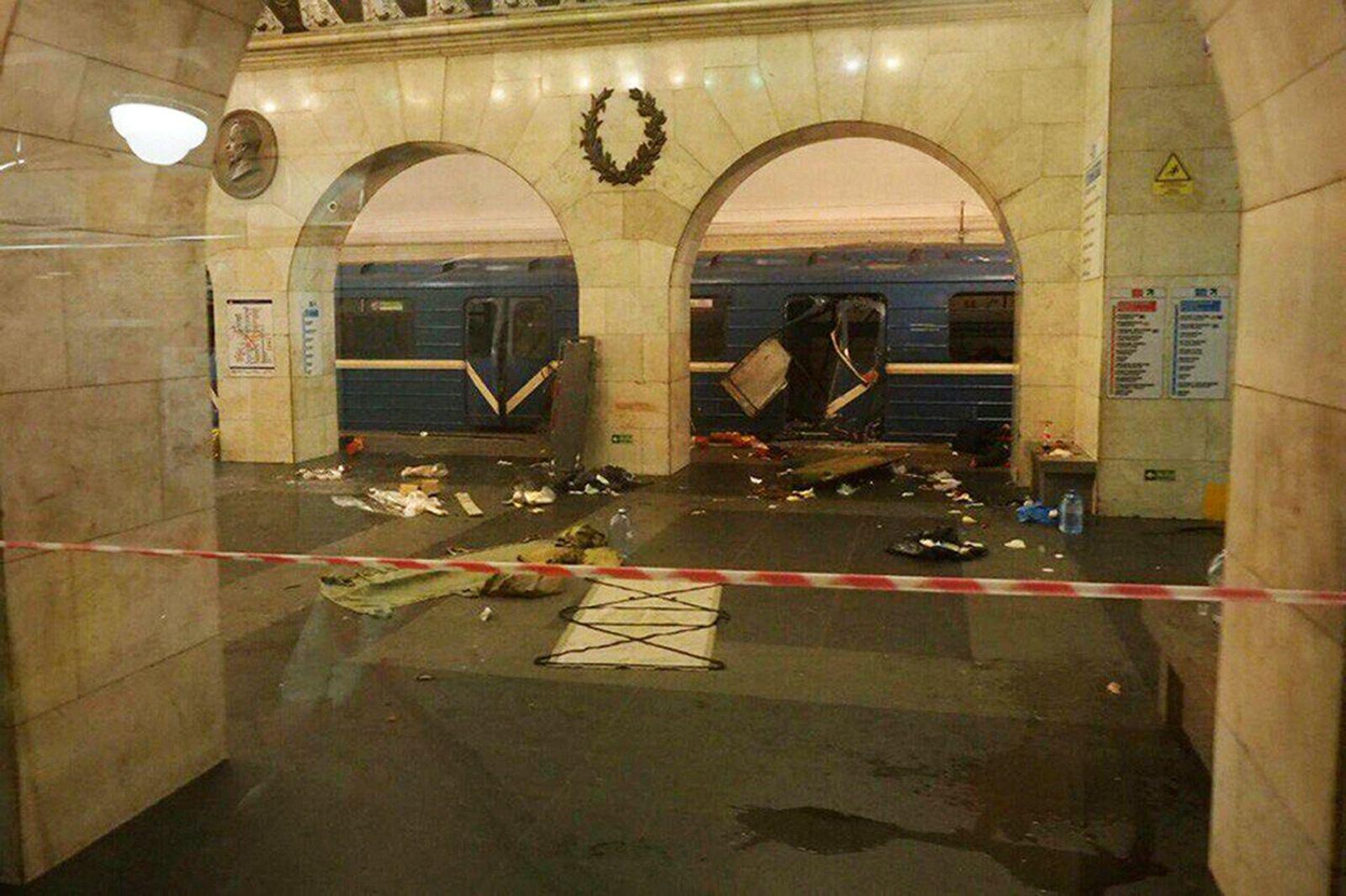 St. Petersburg/ Ubahn/ Explosion
