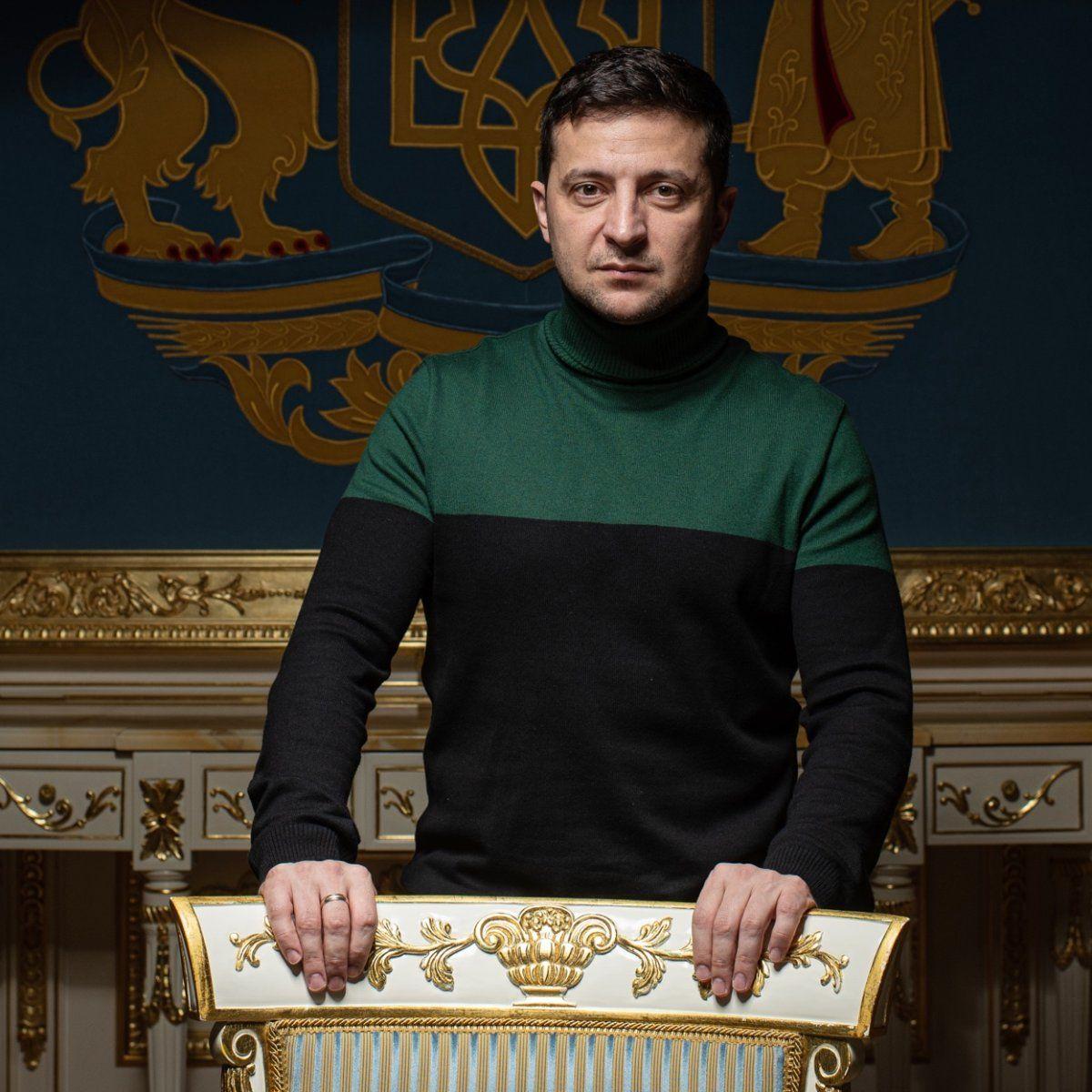 EINMALIGE VERWENDUNG Wolodymyr Selenskyj / SPIEGEL Interview / Ukraine