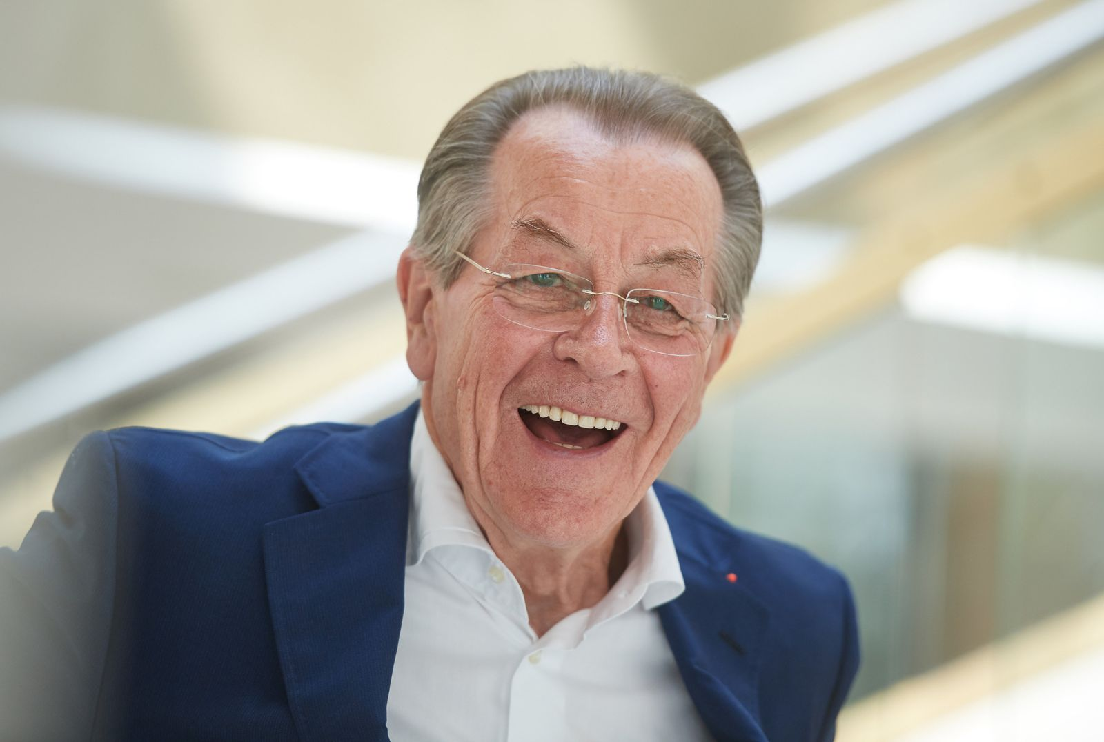 Franz Müntefering wird 80