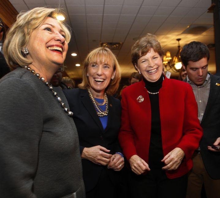Blick auf 2016: Hillary Clinton im Kongresswahlkampf