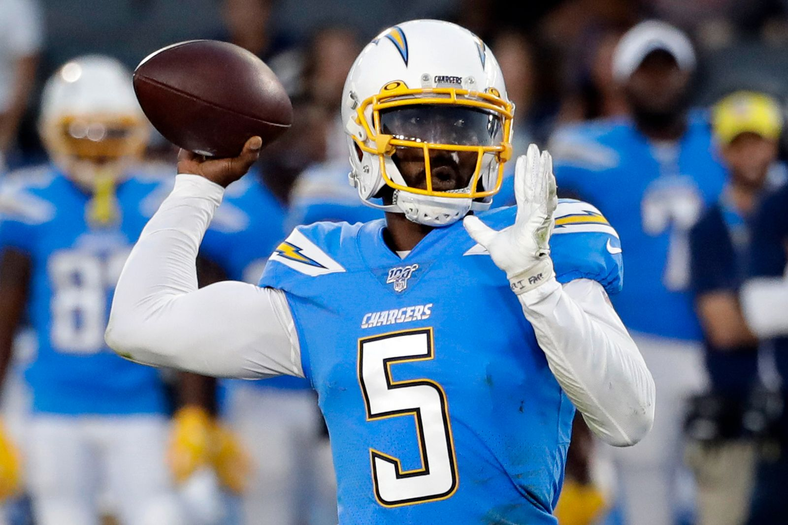 Chargers Taylors Time Football