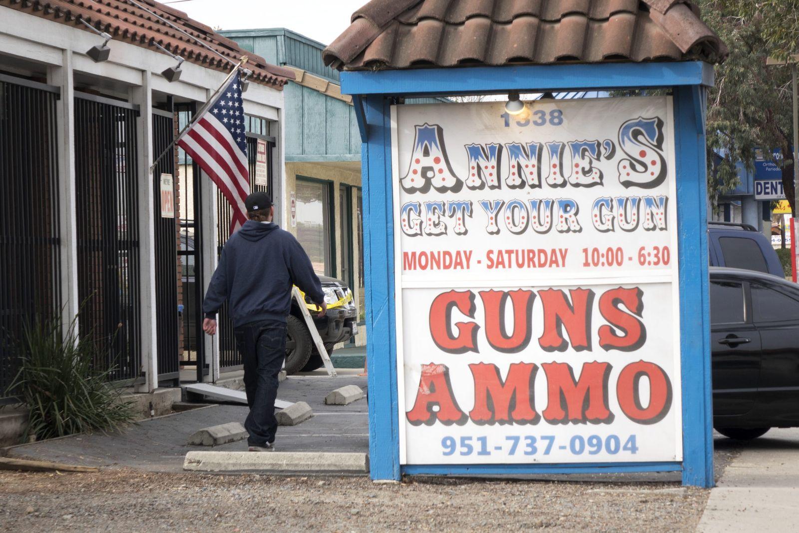 San Bernardino gun shop