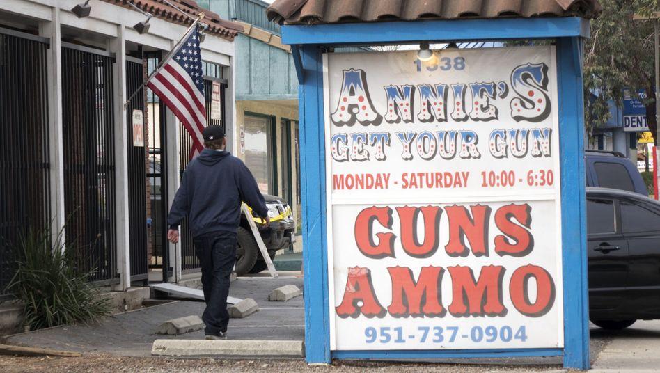 """Waffenladen in Kalifornien: """"Nationale Schande"""""""