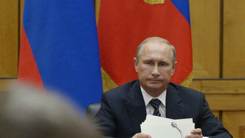 Präsident Putin: Ukrainische Hauptstadt Kiew in zwei Wochen einnehmen