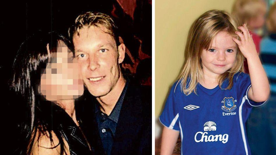 Beschuldigter B. um 2007, Vermisste Madeleine McCann um 2007