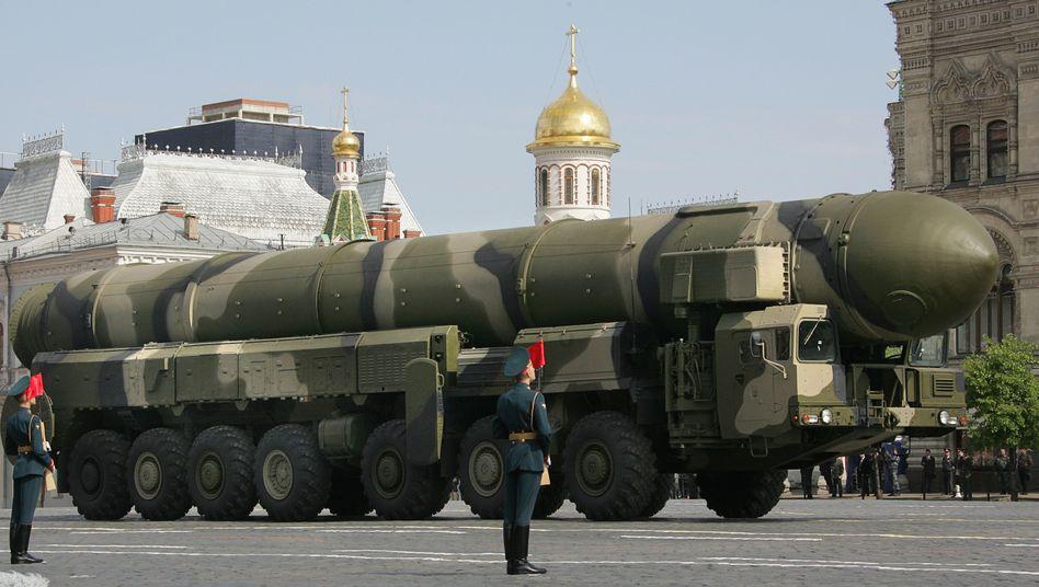 """Russische Atomrakete: Gegen """"neue Bedrohungen"""" wappnen?"""