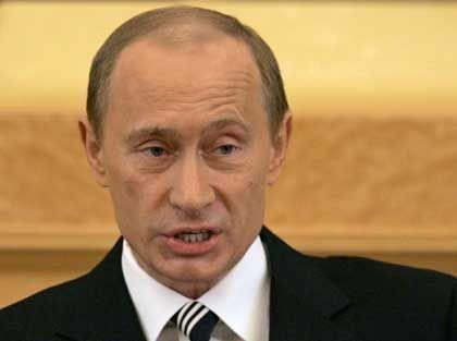 Russlands Präsident Putin: Harte Hand im In- und Ausland
