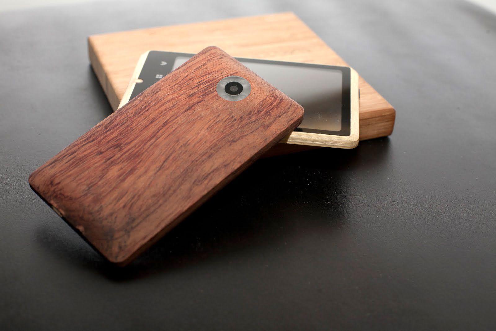 EINMALIGE VERWENDUNG neuerdings / ADZERO Bambus Handy