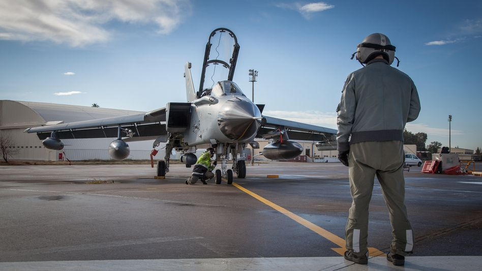Bundeswehr-Tornado in Incirlik
