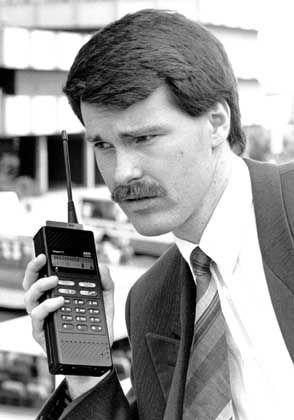 Die Konkurrenz holt auf: Mit nur 585 Gramm war das Teleport C von AEG 1989 das leichteste Handy