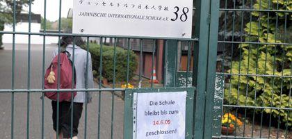 Geschlossen: Die japanische Schule in Düsseldorf