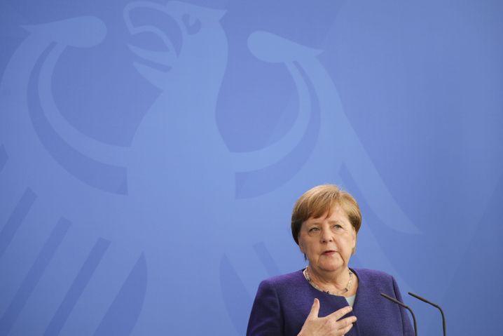 Angela Merkel: in der Coronakrise zur Nichtlinien-Kanzlerin