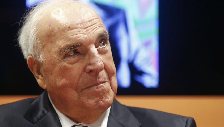 """Altkanzler Helmut Kohl (im Oktober 2014): """"Nicht alles verspielen, was wir schon einmal erreicht hatten"""""""