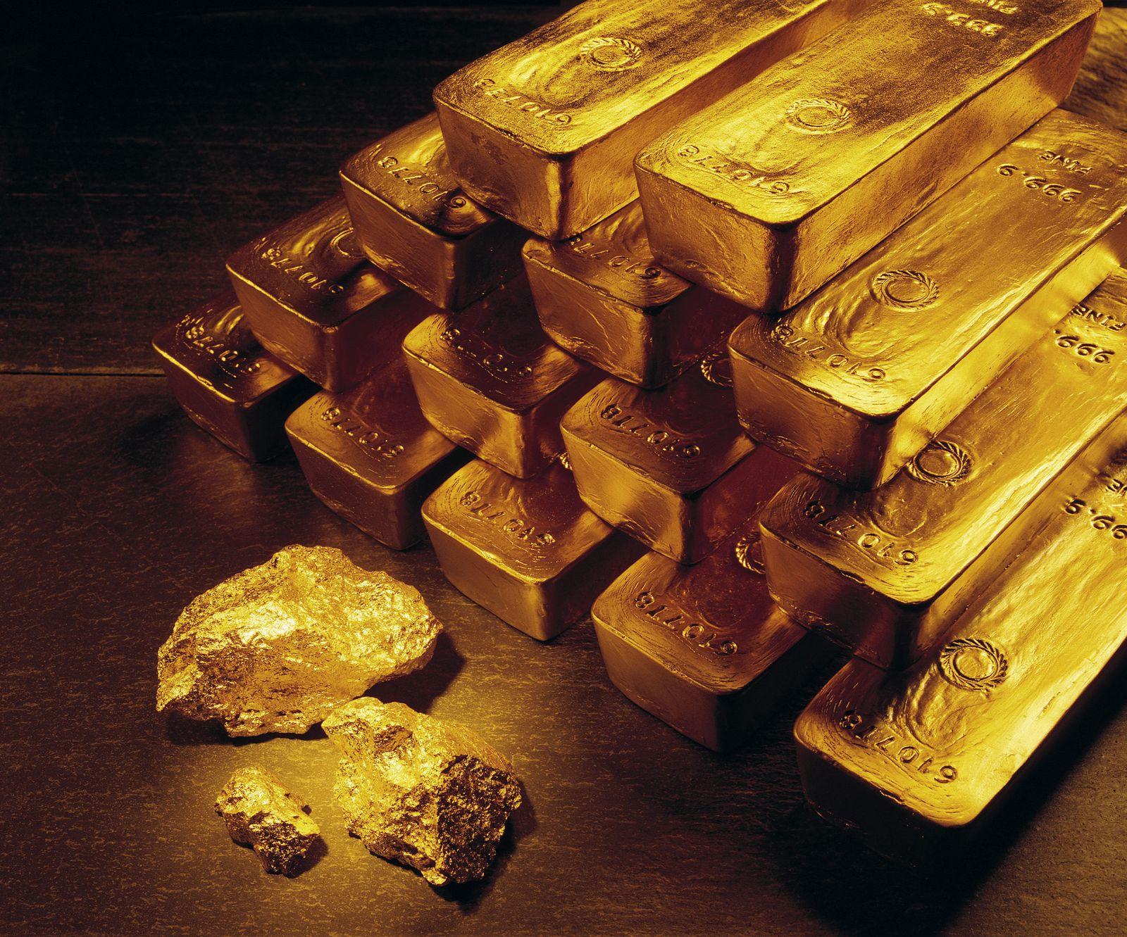Goldbarren / Newmont Mining