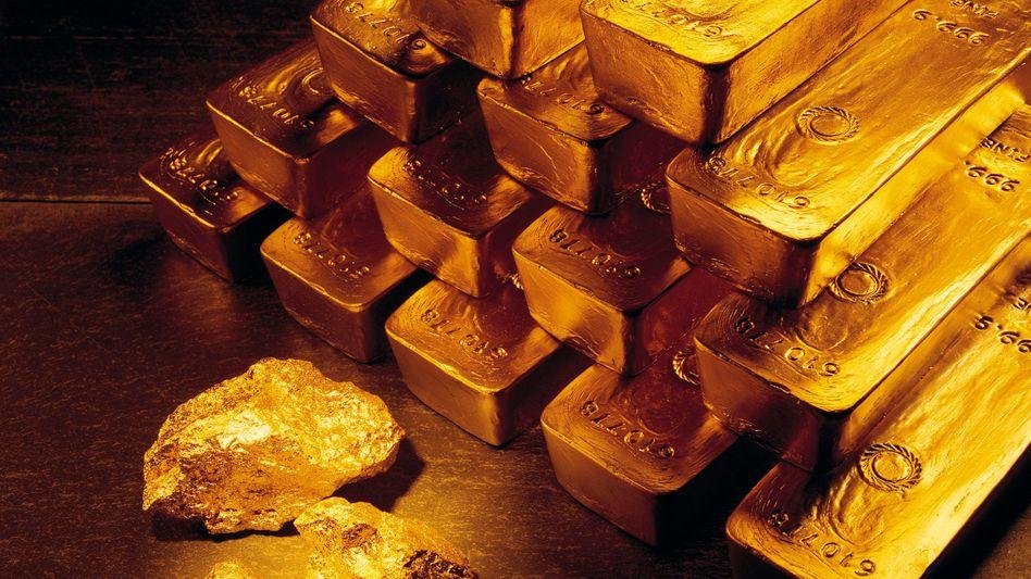"""Goldbarren und -nuggets: """"Wir befinden uns im freien Fall"""""""