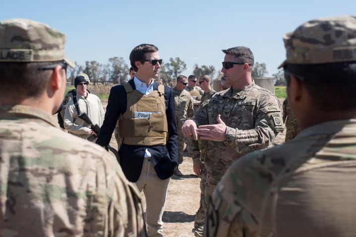 """Trump-Schwiegersohn Kushner im Irak: """"Ich denke, er kann hilfreich sein"""""""