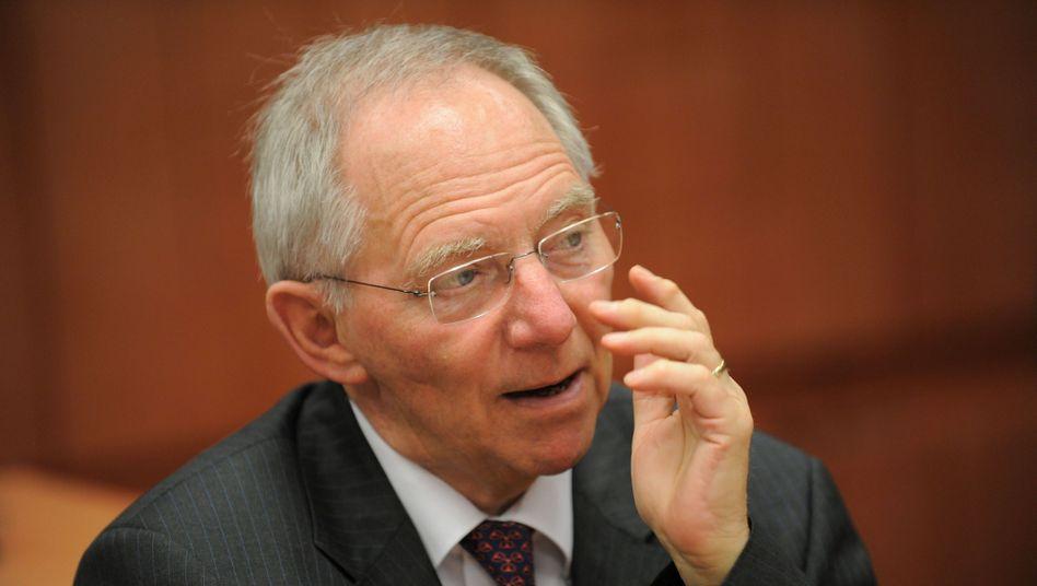 Finanzminister Schäuble: Spielraum für Steuersenkungen?